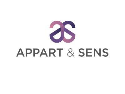 logo appart & sens - référence de springbok