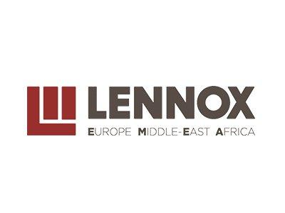 Lennox logo - référence de springbok