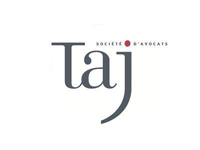 taj société d'avocat logo - référence de springbok
